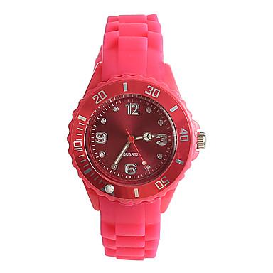 pentru Doamne Ceas La Modă Japoneză Quartz Japonez / Silicon Bandă Casual Pink