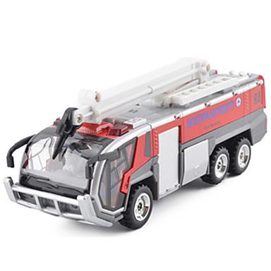Feuerwehrauto Spielzeug-LKWs & -Baustellenfahrzeuge Spielzeug-Autos Aufziehbare Fahrzeuge Simulation Metalllegierung Metal Unisex Kinder