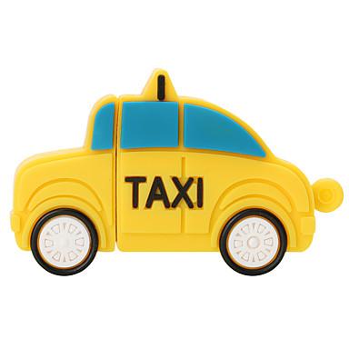 حار جديد الكرتون تاكسي usb2.0 32 جيجابايت فلاش حملة يو القرص ذاكرة عصا