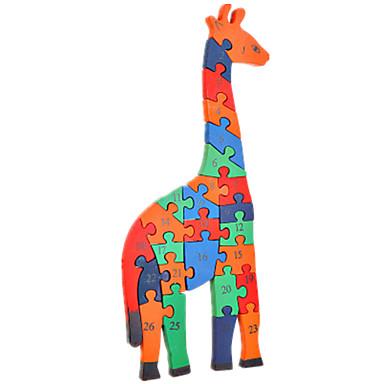 بانوراما الألغاز مجموعة اصنع بنفسك اللبنات DIY اللعب حيوان