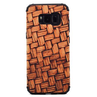 hoesje Voor Samsung Galaxy S8 Plus S8 Schokbestendig Patroon Achterkantje Houtnerf Hard PC voor S8 S8 Plus S7 edge S7