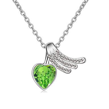 Dames Hangertjes ketting Sieraden Hartvorm Sieraden Kristal Legering Uniek ontwerp Modieus Euramerican Sieraden Voor Feest Anders >>