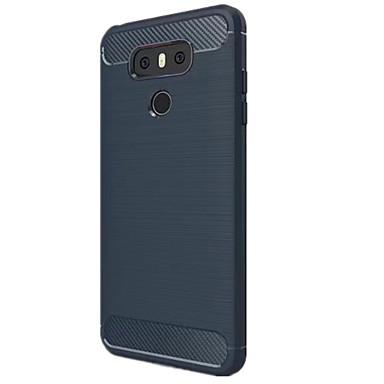 hoesje Voor LG Stofbestendig Achterkant Effen Kleur Zacht Siliconen voor LG G6