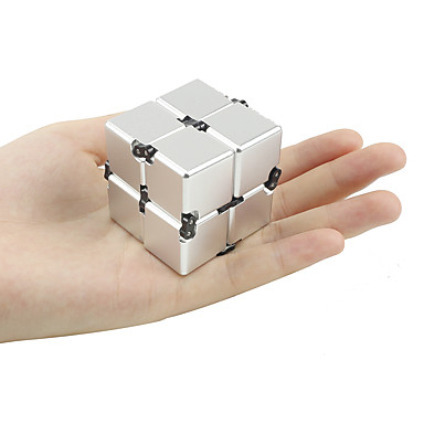 Oneindige kubus Fidget spinners Fidgetspeeltjes Speeltjes voor Killing Time Stress en angst Relief Focus Toy Kantoor Bureau Speelgoed