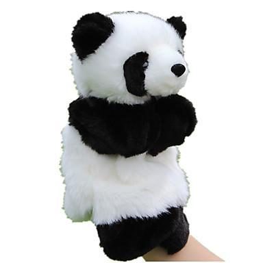 Vingerpoppetjes Poppen Educatief speelgoed Speeltjes Eend Beer Dier Panda Schattig Dieren tactel Pluche Kinderen Stuks