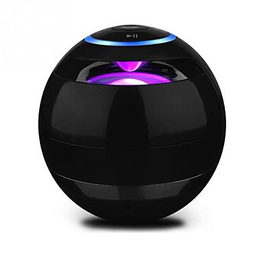 Draadloos Draadloze bluetooth speakers Draagbaar Voor buiten Bult-microfoon LED-licht Geheugenkaart Ondersteund Stereo surround sound