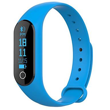 Brățară inteligent Touch Screen Monitor Ritm Cardiac Calorii Arse Pedometre Înregistrare Exerciţii Detectarea Distanţei Informație