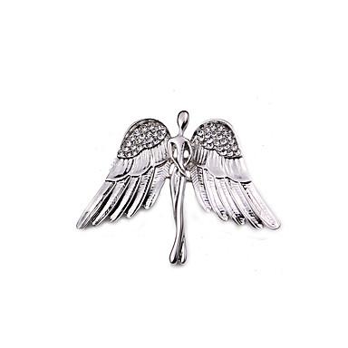 Damen Broschen Strass Tier Design Euramerican Modisch Aleación Flügel Gold Silber Schmuck Für Alltagskleidung Normal Lässig/Alltäglich