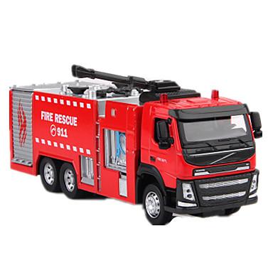 Speelgoedauto's Modelauto Brandweerwagen Speeltjes Simulatie Schip Vrachtwagen Brandweerwagens Metaal Stuks Unisex Jongens Geschenk