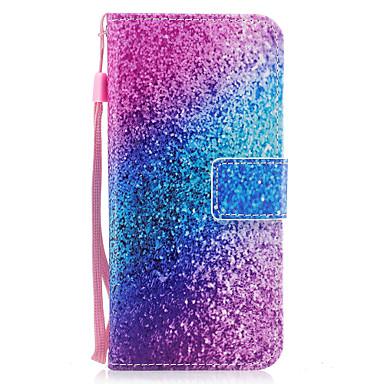 غطاء من أجل Samsung Galaxy S8 Plus S8 حامل البطاقات محفظة مع حامل قلب مغناطيس نموذج غطاء كامل للجسم حجر كريم قاسي جلد PU إلى S8 Plus S8