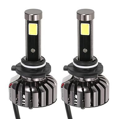 ككمون زوج من 9006 hb4 دس 12 فولت 40 واط 4000lm 6000 كيلو الصمام العلوي مصباح عدة ضوء المصابيح