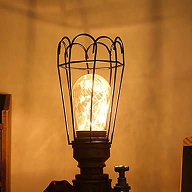 1pc 0.1w multifuncțional cu ceas deșteptător oglindă cosmetică led lampă de noapte
