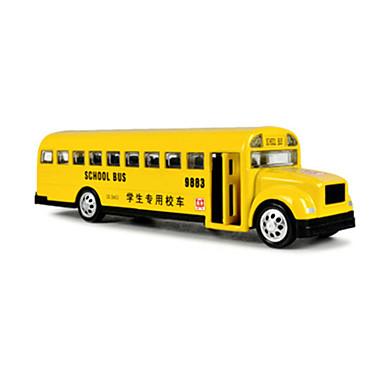 لعبة سيارات ألعاب حافلة باص المدرسة ألعاب حافلة سبيكة معدنية قطع للجنسين هدية