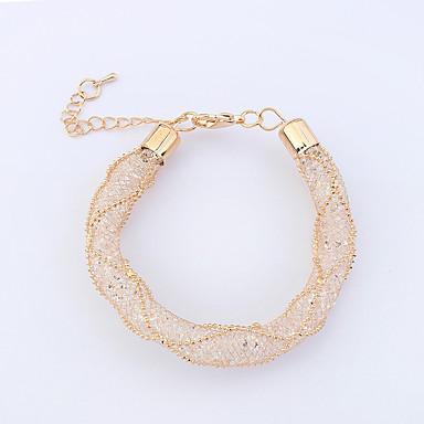 Pentru femei Brățări Bangle Ștras La modă bijuterii de lux Cooper Round Shape Bijuterii Pentru Petrecere