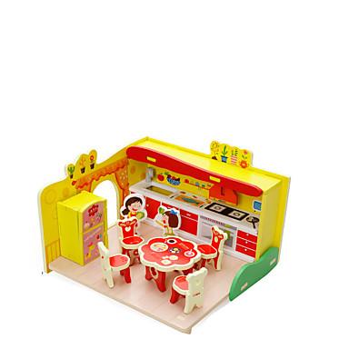 3D - Puzzle Haus Hölzern Kinder Mädchen Geschenk