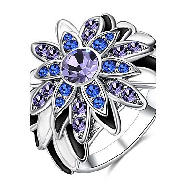 Pentru femei Inele Afirmatoare Inel Zirconiu Cubic Diamant sintetic Personalizat Lux Clasic De Bază Modă Euramerican stil minimalist
