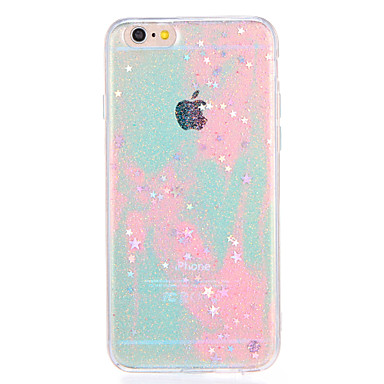 Voor apple iphone7 7plus case cover patroon back cover case kleurgradiënt glitter shine soft tpu 6s plus 6 plus 6s 6