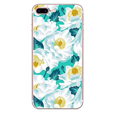 Hülle Für Apple Muster Rückseitenabdeckung Blume Weich TPU für iPhone 7 plus iPhone 7 iPhone 6s Plus iPhone 6 Plus iPhone 6s iPhone 6