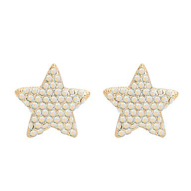 للمرأة أقراط الزر مجوهرات مخصص موضة euramerican في حجر الراين سبيكة مجوهرات مجوهرات من أجل زفاف حزب الذكرى السنوية