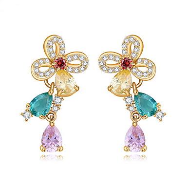 Pentru femei Bijuterii Design Unic La modă Euramerican costum de bijuterii Zirconiu Aliaj Bijuterii Bijuterii Pentru Nuntă Zi de Naștere
