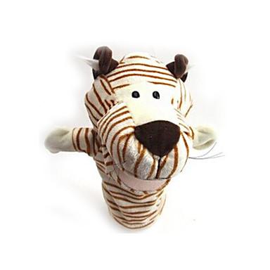 Vingerpoppetjes Knuffels Speeltjes Eend Paard Zebra Tiger Dier Dieren Pluche Stuks