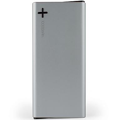 emie® 10000 مللي أمبير أدى بنك الطاقة 5 فولت 2.1a الخارجية متعددة الانتاج مع كابل