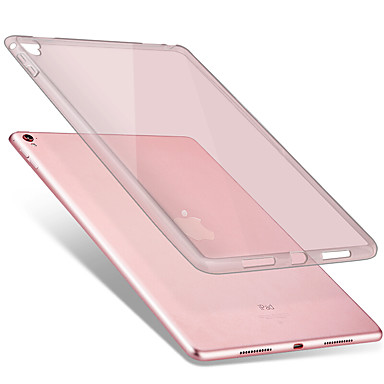 hoesje Voor Apple Transparant Achterkant Effen Kleur Zacht TPU voor iPad Pro 9.7 '' Apple