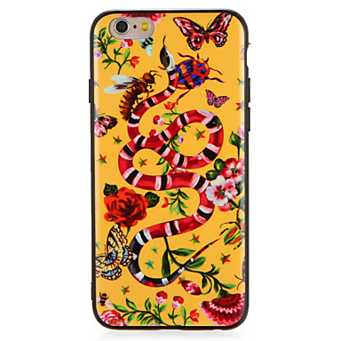 Geval voor apple iphone7 7 plus bloem vlinder dierlijke patroon harde pc voor iphone 6s plus 6 plus 6s 6