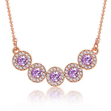 Pentru femei Altele Design Unic Modă Euramerican Toroane Coliere Bijuterii Cristal Aliaj Toroane Coliere . Petrecere Alte Ceremonie Serată