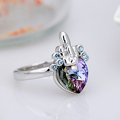 Pentru femei Inel Bijuterii La modă Euramerican Cristal Aliaj Bijuterii Bijuterii Pentru Zi de Naștere Evenimente/Petrecere Alte