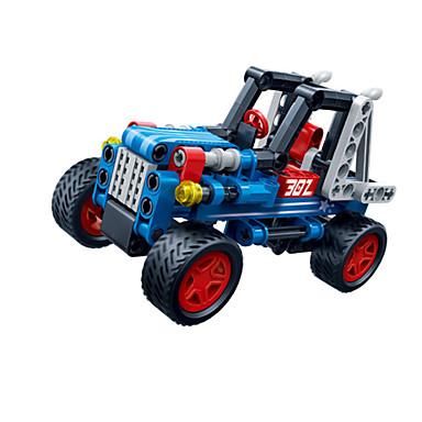 لعبة سيارات أحجار البناء سيارات السحب اصنع بنفسك خلاق سيارة سباق أخرى سيارة سباق صبيان للجنسين هدية