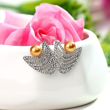 للمرأة حلقات مجوهرات مخصص موضة euramerican في كريستال سبيكة مجوهرات مجوهرات من أجل زفاف حزب الذكرى السنوية