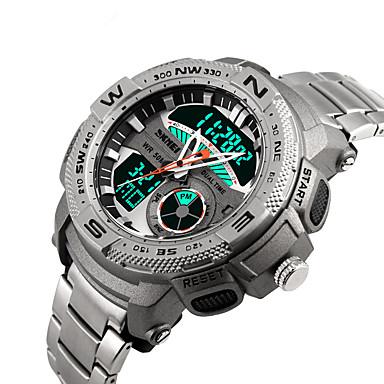 Ceas Smart Rezistent la Apă Standby Lung Sporturi Multifuncțional Cronometru Ceas cu alarmă Zone Duale de Timp Cronograf Calendar OtherNr