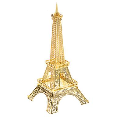 قطع تركيب3D تركيب معدني مجموعات البناء ألعاب معمارية برج ايفيل معدن للجنسين قطع