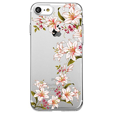 Maska Pentru Apple Transparent Model Carcasă Spate Moale pentru iPhone 7 Plus iPhone 7 iPhone 6s Plus iPhone 6 Plus iPhone 6s iPhone 6