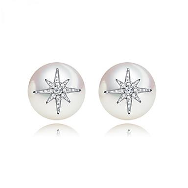 Dames Oorknopjes Sieraden Uniek ontwerp Modieus Euramerican Kostuum juwelen Parel Legering Sieraden Sieraden Voor Bruiloft Verjaardag