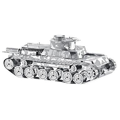 3D-puzzels Metalen puzzels Speeltjes Tank Metaal Unisex Stuks