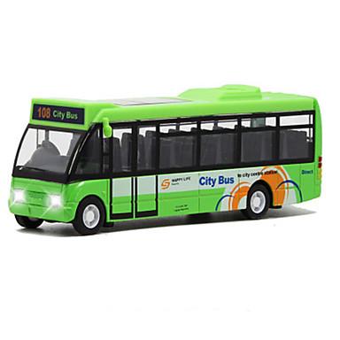 Jucării pentru mașini Vehicul cu Tragere Autobuz Jucarii Simulare Autobuz Aliaj Metalic MetalPistol Bucăți Unisex Cadou