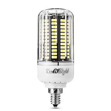10W 800 lm E12 LED Mais-Birnen T 136 Leds SMD 5733 Warmes Weiß Kühles Weiß 110-120