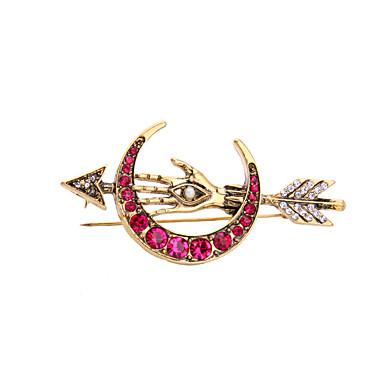 للمرأة دبابيس موضة شخصية euramerican في والمجوهرات سبيكة مجوهرات من أجل زفاف حزب مناسبة خاصة