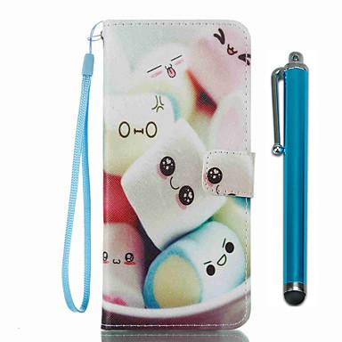 غطاء من أجل Samsung Galaxy S8 Plus S8 حامل البطاقات محفظة مع حامل قلب نموذج غطاء كامل للجسم كارتون قاسي جلد PU إلى S8 Plus S8