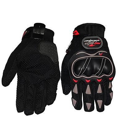 Activități/ Mănuși de sport Mănuși pentru ciclism Respirabil Rezistent la uzură Rezistent la șoc Protector Deget Întreg Pânză Sporturi de
