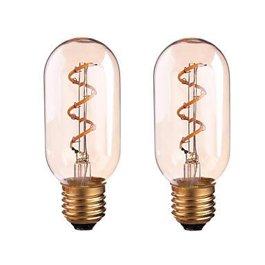 ONDENN 2pcs 4W 350 lm مصابيحLED P45 1 الأضواء COB تخفيت أبيض دافئ AC 85-265 V