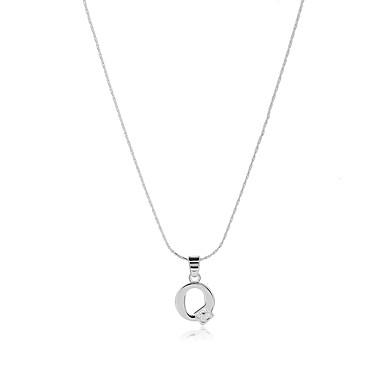 للرجال للمرأة Alphabet Shape ستايل الشعار بوهيميان الولايات المتحدة الأمريكية بيان المجوهرات مصنوع يدوي توازن الطاقة قلائد الحلي مكعب