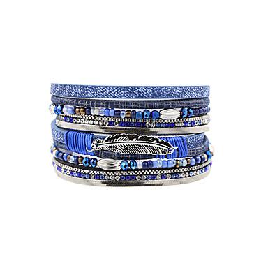 Dames Lederen armbanden Sieraden Modieus Vintage Bohemia Style Turks Kostuum juwelen Leder Sieraden Voor Bruiloft Feest Speciale