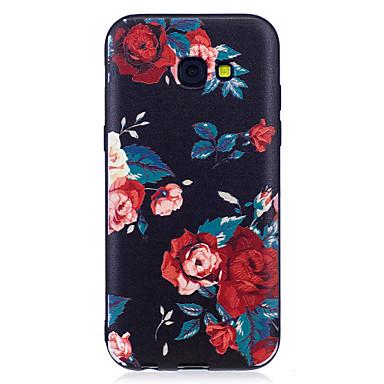 غطاء من أجل Samsung Galaxy A5(2017) A3(2017) نموذج غطاء خلفي زهور ناعم TPU إلى A3 (2017) A5 (2017) A5(2016) A3(2016)