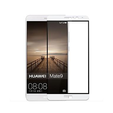 Ecran protector pentru Huawei Mate 9 Sticlă securizată 1 piesă Ecran Protecție Față High Definition (HD) 9H Duritate 2.5D Muchie Curbată