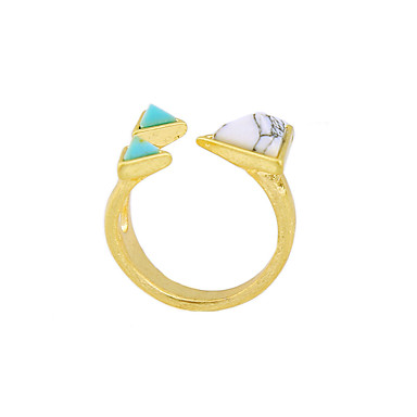 للمرأة خاتم تصميم فريد موضة euramerican في سبيكة مجوهرات من أجل زفاف حزب عيد ميلاد