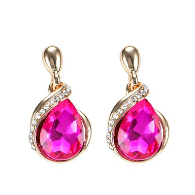 Dames Druppel oorbellen Kristal Hangende stijl Bohémien Legering Anderen Sieraden Feest Dagelijks Causaal Toneel Kostuum juwelen