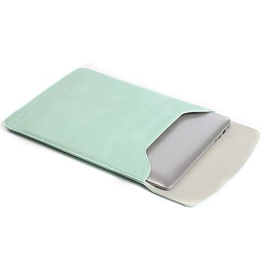 Mouwen voor Effen Kleur PU-nahka Nieuwe MacBook Pro 13
